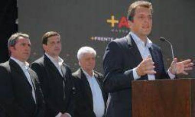 Massa, junto a Bordagaray, sigue mostrando su proyecto presidencial