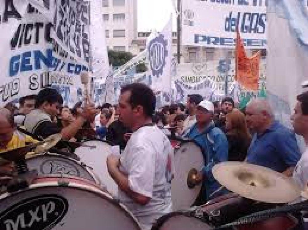 Los municipales de Sutecba paran contra Macri este miércoles