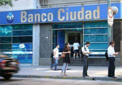 El Banco Ciudad, en campaña por Macri