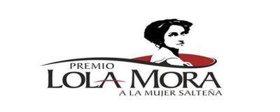 "Las ganadoras del premio ""Lola Mora"""