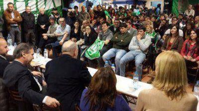 Colina se reunió en Bariloche para apoyar a Pichetto
