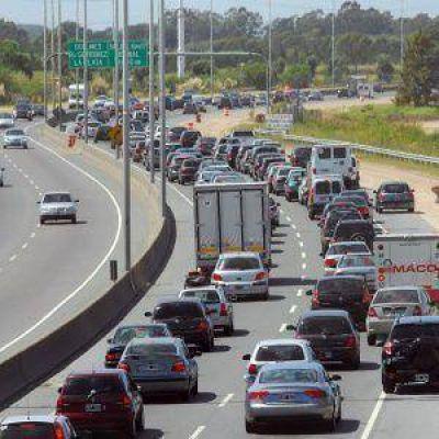 Autopista: está cerrada la subida por diagonal 74