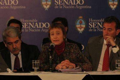"""Ríos aclaró que por la nueva Ley de Hidrocarburos """"no he sido presionada, ni mi gobierno ha sido presionado"""""""