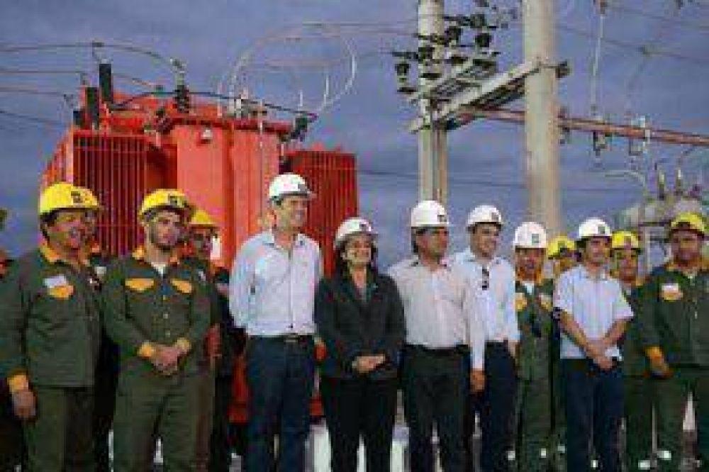 Inauguran obra que duplica la energía para el sur capitalino