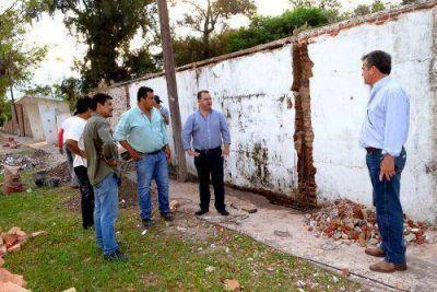 El Municipio de Juan José Castelli comenzó con los trabajos de mejoramientos en el cementerio local