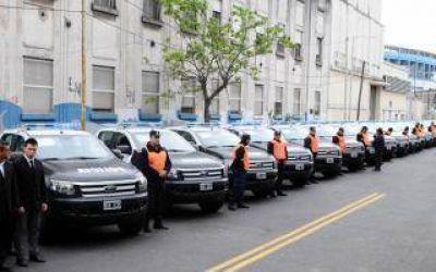 Avellaneda: Entregaron 30 patrulleros para el Comando de Prevención Comunitaria