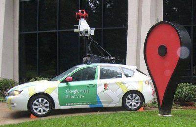 Castelli en Google Street View