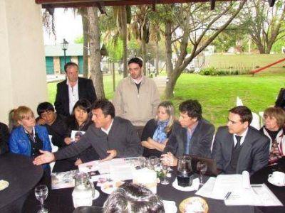 Massa y Posse se reunieron en San Isidro con v�ctimas de la inseguridad