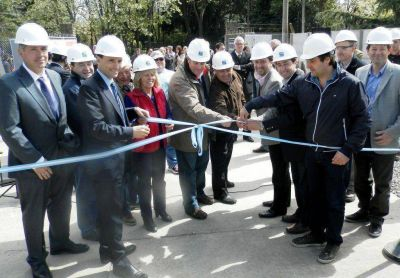 Más energía para Navarro: se acaba de inaugurar la Planta Transformadora