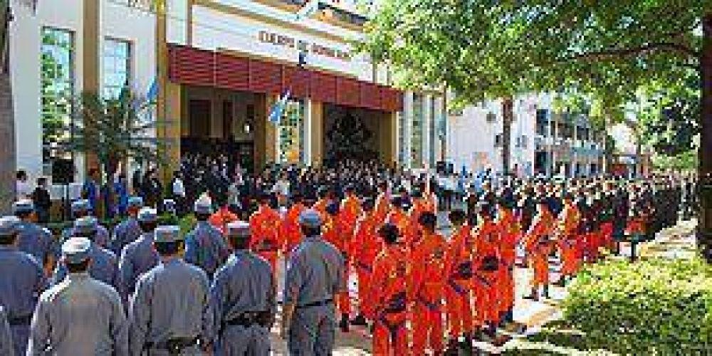 Bomberos festejaron sus 67 años en Formosa