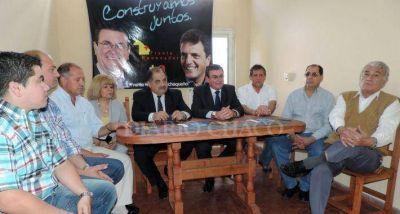 Honcheruk presentó el comando electoral del Frente Renovador para Resistencia