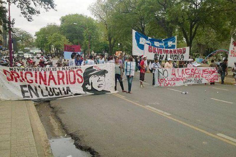 Masiva protesta de la Multisectorial provocó caos de tránsito en Resistencia