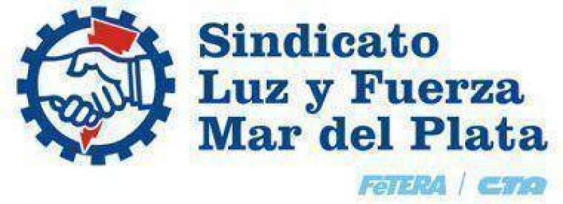 Aseguran que Luz y Fuerza Mar del Plata no participa del Congreso en el Hotel 13 de Julio