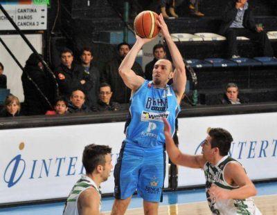 Bahía Basket superó 86 a 85 a Gimnasia de Comodoro Rivadavia en suplementario
