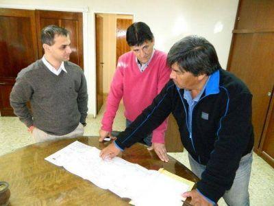 Se inició la obra de tendido de cable para Fibra Óptica en Roque Pérez