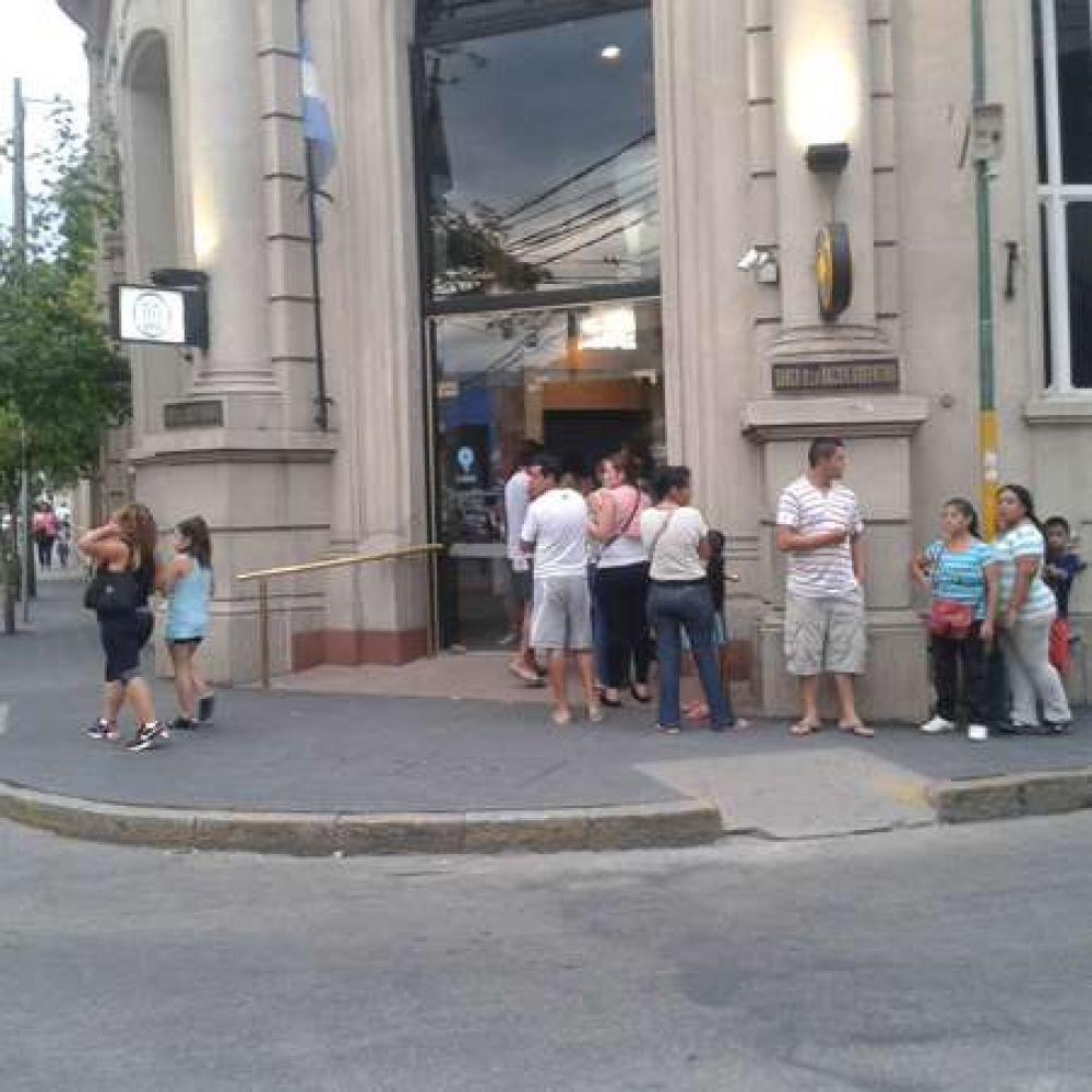 Bancarios riojanos en alerta y movilización