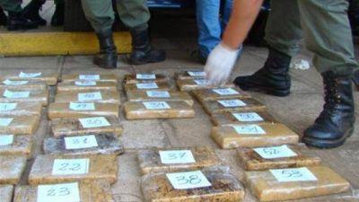 En tres operativos de Gendarmería se logró secuestrar 150 kg. de cocaína en rutas salteñas