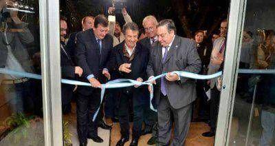 Sergio Urribarri inauguró un complejo turístico