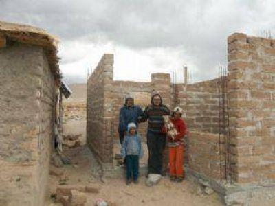18 módulos habitacionales darán una mejor calidad de vida a una comunidad indígena
