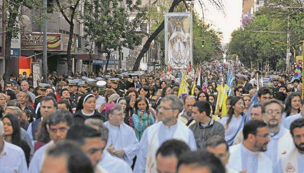 La Patrona de Córdoba tuvo su procesión