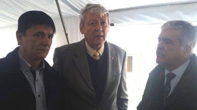 Gasparini firmó convenio para obras hidráulicas