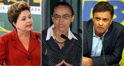 De cara al ballotage Neves apostará por sumar a Silva y Rousseff por su neutralidad