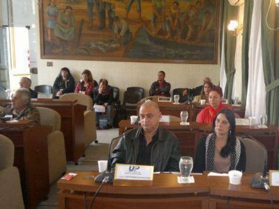 Concejo Deliberante: Cucurucho en la frente para Ignomiriello