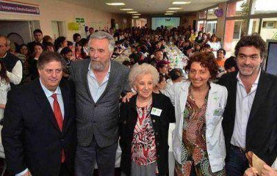 Carlotto y Collia abrieron la Semana del Prematuro