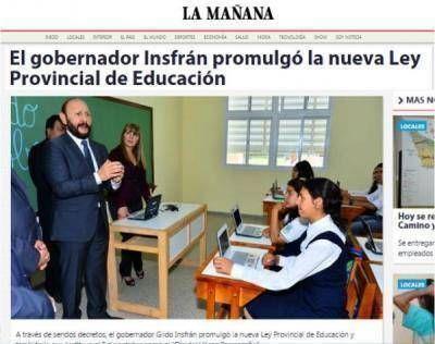 Para Voz Docente la nueva Ley de Educaci�n Provincial ya est� desactualizada, cercena derechos y discrimina a los docentes
