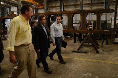 Pulti adjudicó los terrenos para producir torres petroleras para Vaca Muerta
