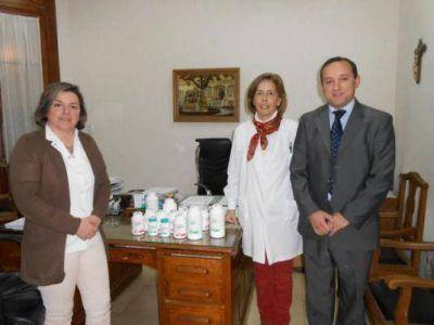 El Hospital Santamarina recibió una nueva donación de la Fundación Osde
