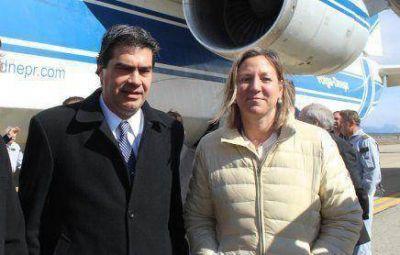 Martini ir� a Guayana para participar del lanzamiento del ARSAT-1