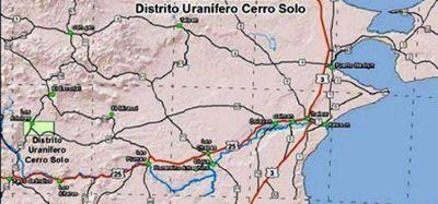 Construirán una planta de uranio en el Yacimiento Cerro Solo