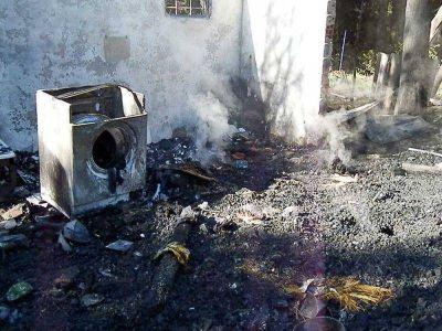 El incendio de Villa Lago Gutiérrez fue ocasionado por una estufa