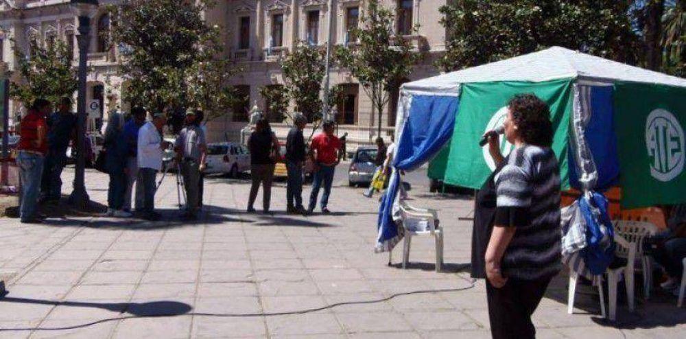 Jornada provincial de lucha de la Intersindical en todo Jujuy