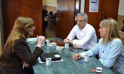 Eseverri se reunió con la Decana de la Facultad de Agronomía de Azul