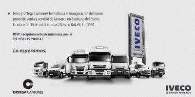 Iveco inaugura concesionario en Santiago del Estero