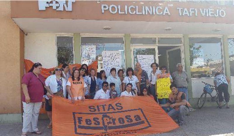 Autoconvocados de la Salud exigen mejoras laborales en Policlínico de Tafí Viejo