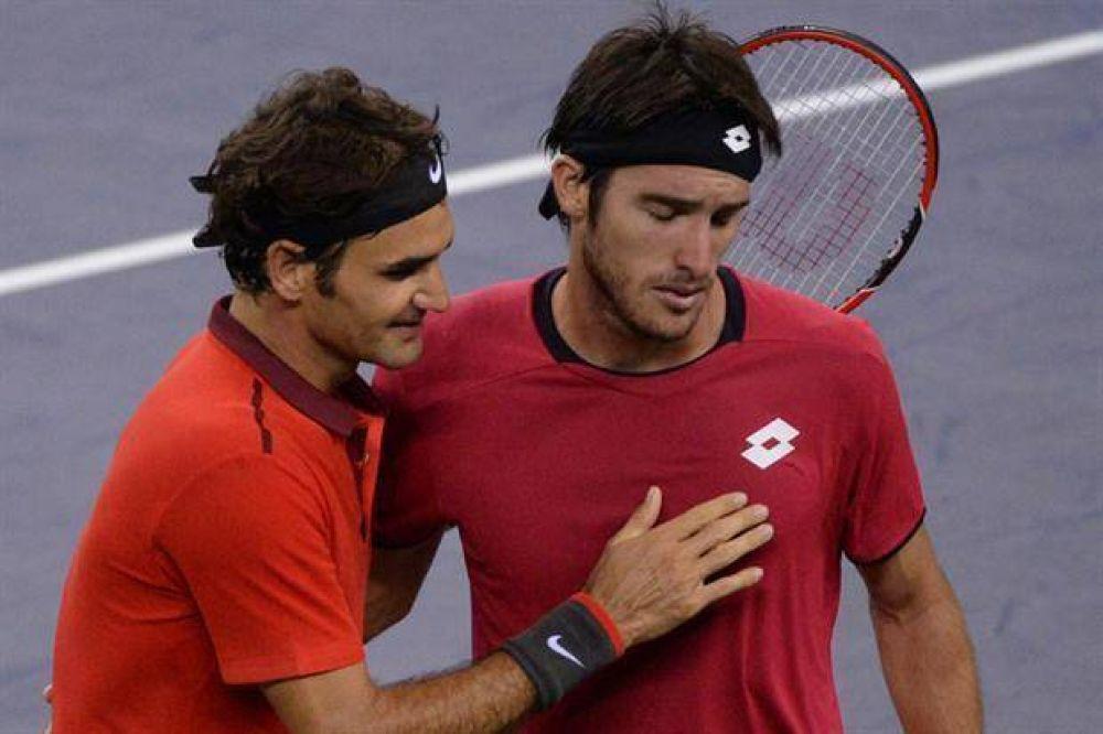 Roger Federer, sobre el partido ante Leo Mayer: