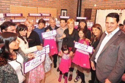 Poggi inaugura 15 nuevas empresas en el Valle del Conlara
