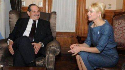 """Rabolini visitó Tucumán y """"coqueteó"""" politicamente con Alperovich y Amaya"""