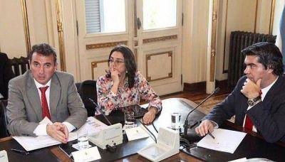 Pérez acordó con la Nación acciones para el sector vitivinícola