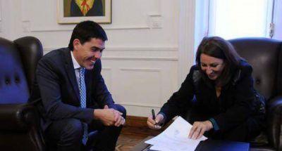 Ramos y Fein acordaron nuevo financiamiento de obras