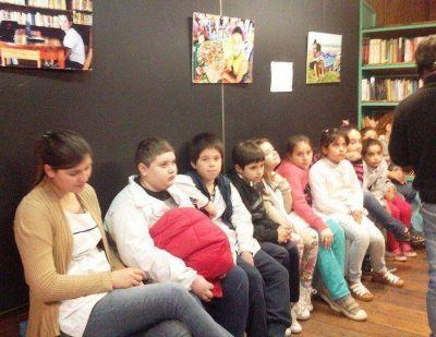 Cientos de chicos disfrutaron del Vagón Cultural del Tren de Desarrollo Social