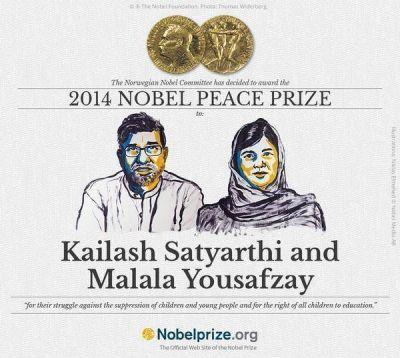 No fue para Francisco: el Nobel de la Paz lo ganaron una paquistaní y un indio