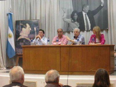 Con el acompañamiento de la militancia el PJ recordó a Perón en un nuevo aniversario de su nacimiento