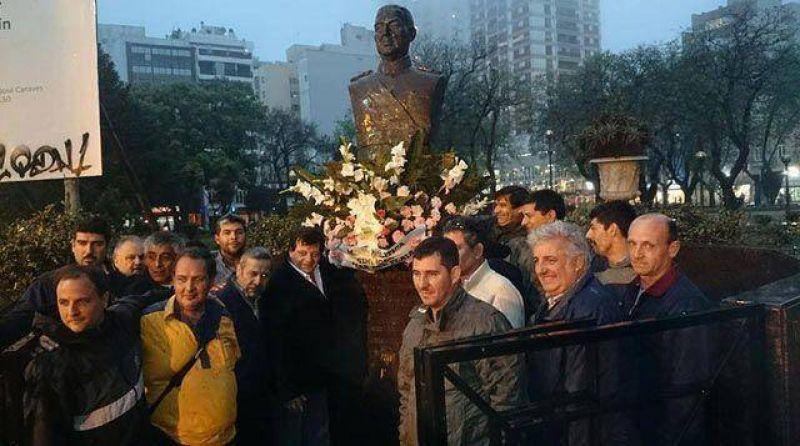 La Mesa Político Sindical recordó al general Perón