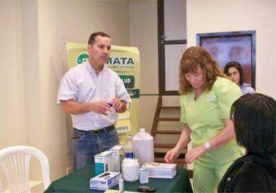 SMATA lanzó una campaña gratuita de vacunación anti-tetánica