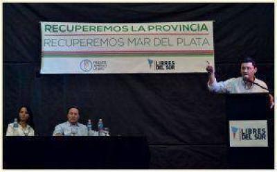 """""""Pulti quiere conurbanizar la política en Mar del Plata, yo quiero devolverle la transparencia"""""""