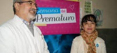 Cierre de la Semana del Prematuro en el Hospital